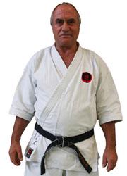 Fotis Liaras (7. Dan DKV) Trainer Karate München