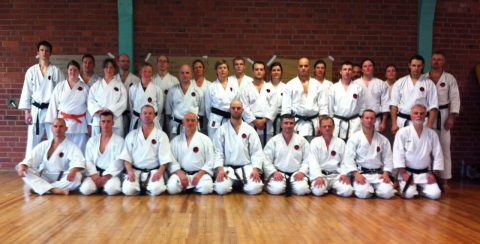 Body, breath and mind Lehrgang mit Sensei Leijenhorst