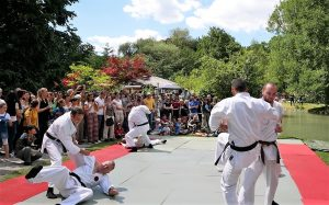 Okinawa Karate auf Japanfest München 2018 @ Englischen Garten, München, Hinter Haus der Kunst | München | Bayern | Deutschland