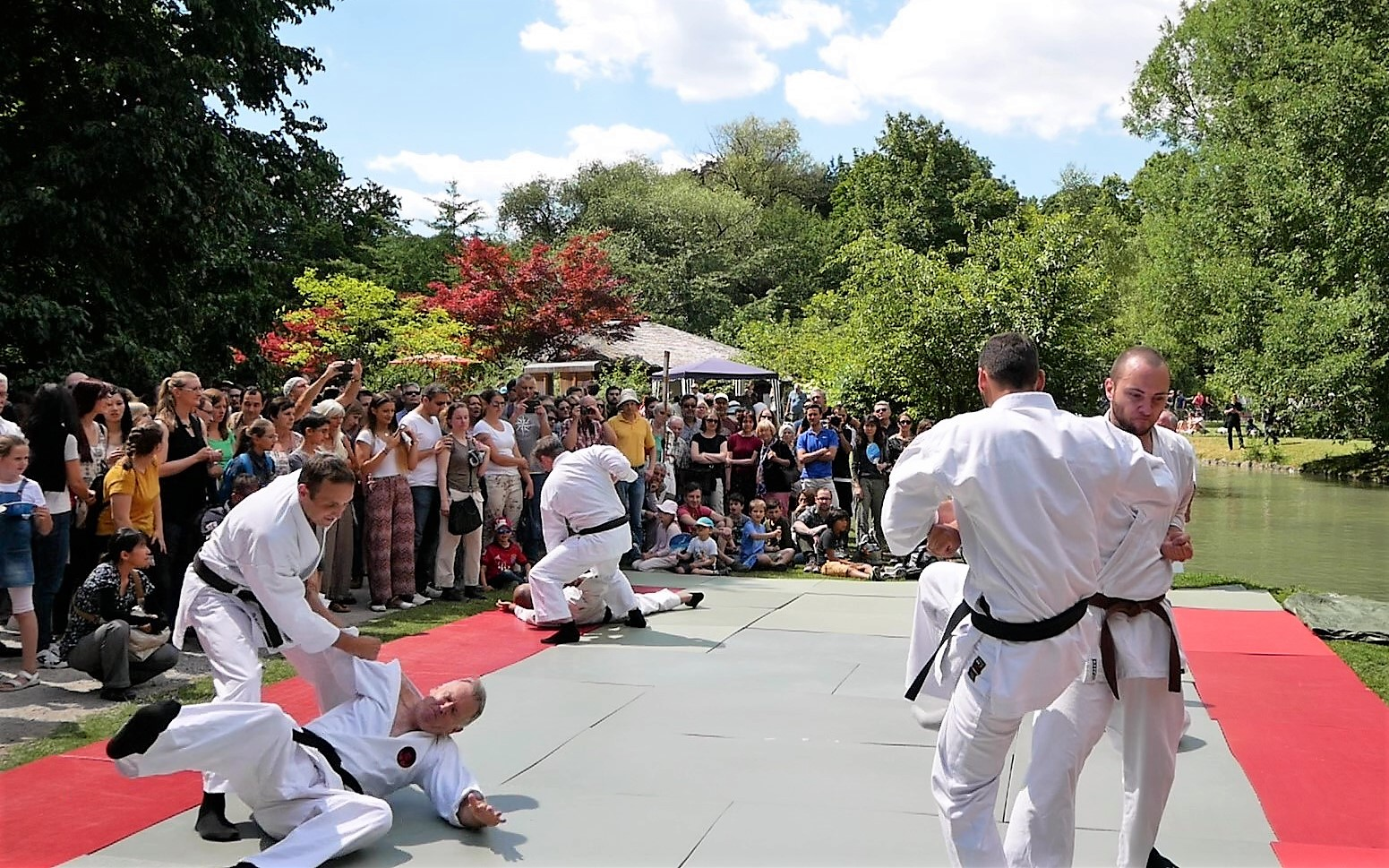 Japanischer Garten München okinawa karate auf japanfest münchen 2018 traditionelles goju ryu