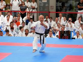 World Karate Day 2017 in München - Kata von Zenpo Shimabukuro, 10. DAN
