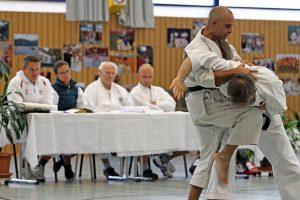 Omar Karate München 5. Dan Prüfung Kata Bunkai