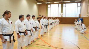 Karateverein in München Abgrüßen Weihnachtslehrgang