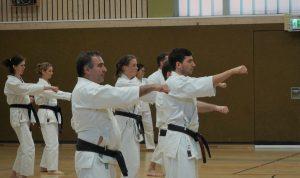 Karateverein in München Action2 Weihnachtslehrgang