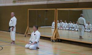 Karateverein München Angrüssen Weihnachtslehrgang