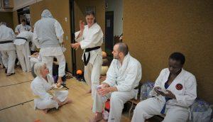Karateverein München Pause Weihnachtslehrgang