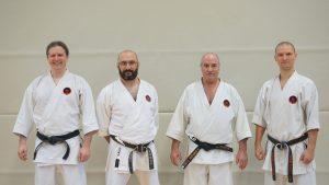 Karateverein in München Trainerteam Weihnachtslehrgang