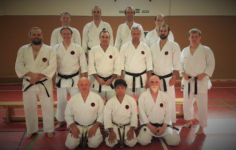 München auf Karate 2018 Lehrgang Hamburg